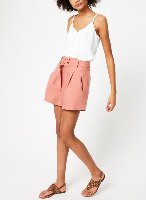 Vêtements Suncoo SHORT BIZBEE Rose vue bas / vue portée sac