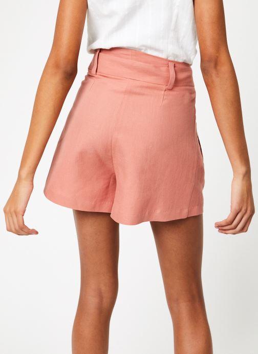 Vêtements Suncoo SHORT BIZBEE Rose vue portées chaussures