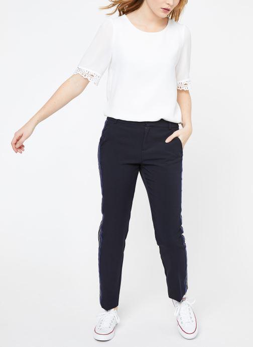 Vêtements Suncoo BLOUSE LOIS Blanc vue bas / vue portée sac