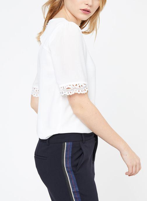 Vêtements Suncoo BLOUSE LOIS Blanc vue droite