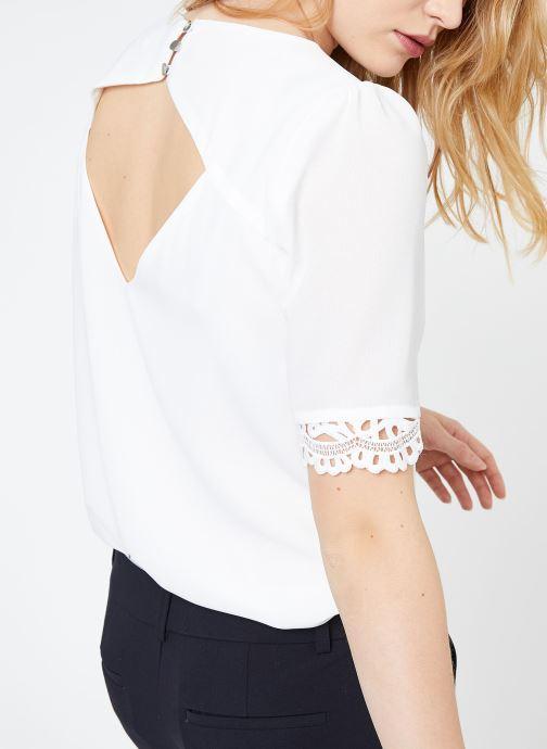 Vêtements Suncoo BLOUSE LOIS Blanc vue détail/paire