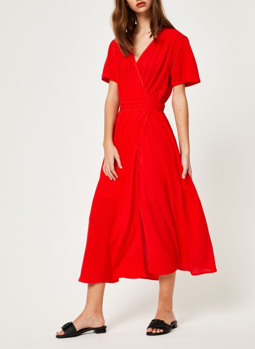 Vêtements Suncoo ROBE CATALINA Rouge vue bas / vue portée sac