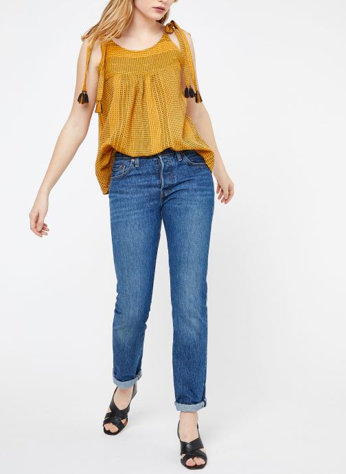 Linea Vêtements Suncoo Top 364116 Chez jaune PU8nWnTvq