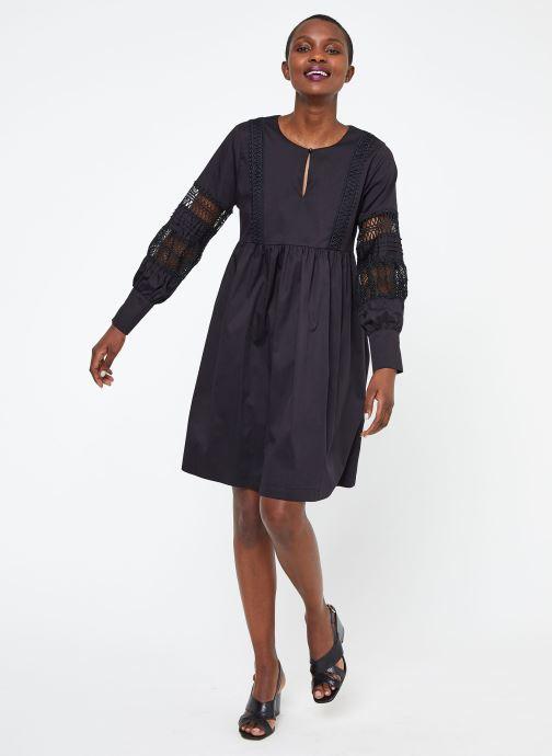 Vêtements Suncoo ROBE CATHERINE Noir vue bas / vue portée sac