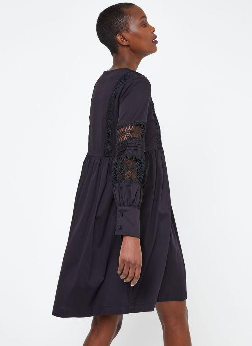 Vêtements Suncoo ROBE CATHERINE Noir vue portées chaussures