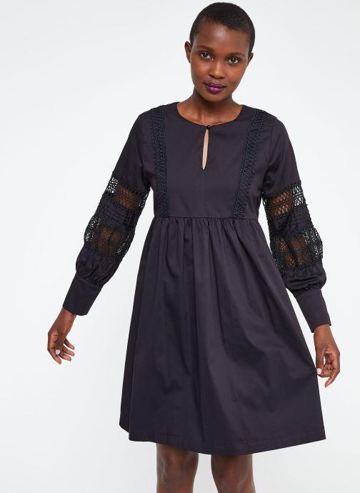 Vêtements Suncoo ROBE CATHERINE Noir vue droite