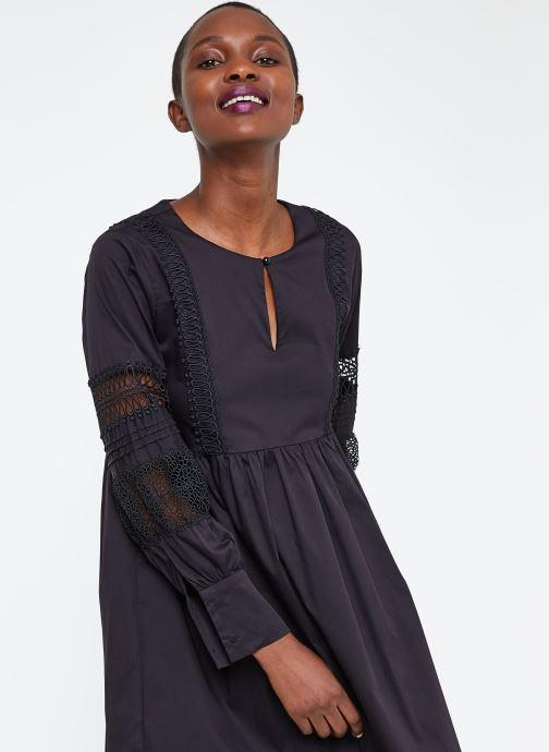 Vêtements Suncoo ROBE CATHERINE Noir vue détail/paire
