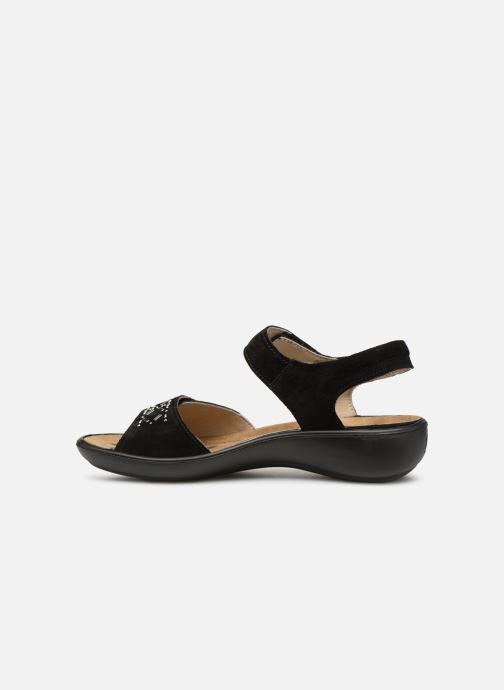 Sandales et nu-pieds Romika Ibiza 98 Noir vue face
