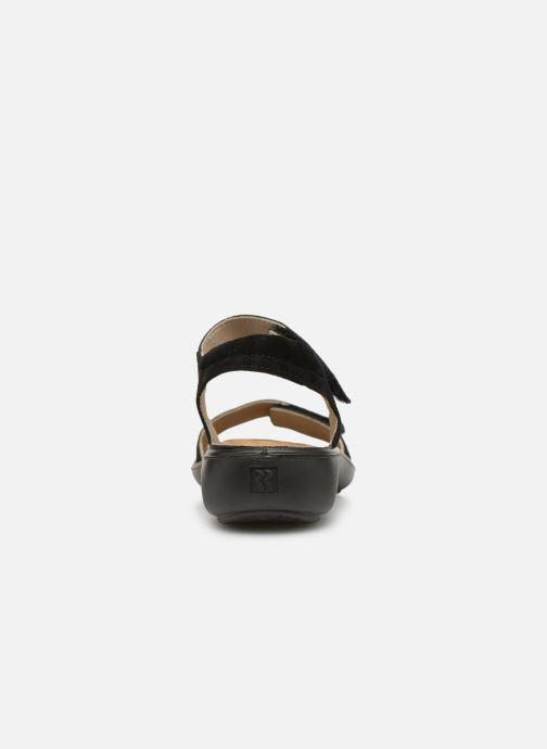 Sandales et nu-pieds Romika Ibiza 98 Noir vue droite