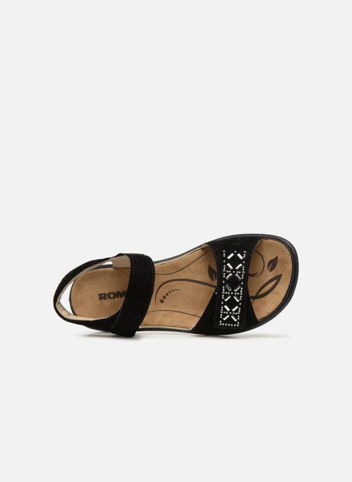 Sandales et nu-pieds Romika Ibiza 98 Noir vue gauche