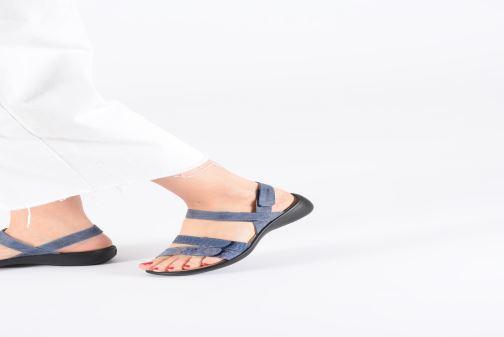 Sandales et nu-pieds Romika Ibiza 103 Bleu vue bas / vue portée sac