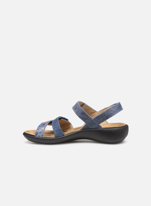 Sandales et nu-pieds Romika Ibiza 103 Bleu vue face
