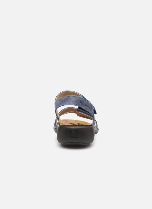 Sandales et nu-pieds Romika Ibiza 103 Bleu vue droite