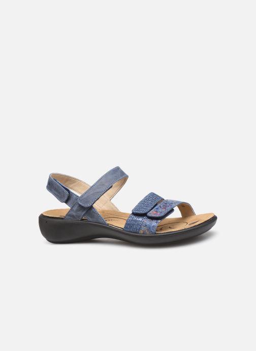 Sandales et nu-pieds Romika Ibiza 103 Bleu vue derrière