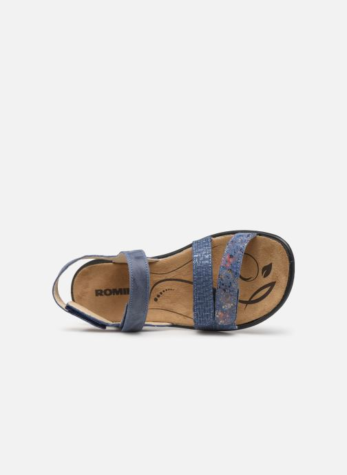 Sandales et nu-pieds Romika Ibiza 103 Bleu vue gauche