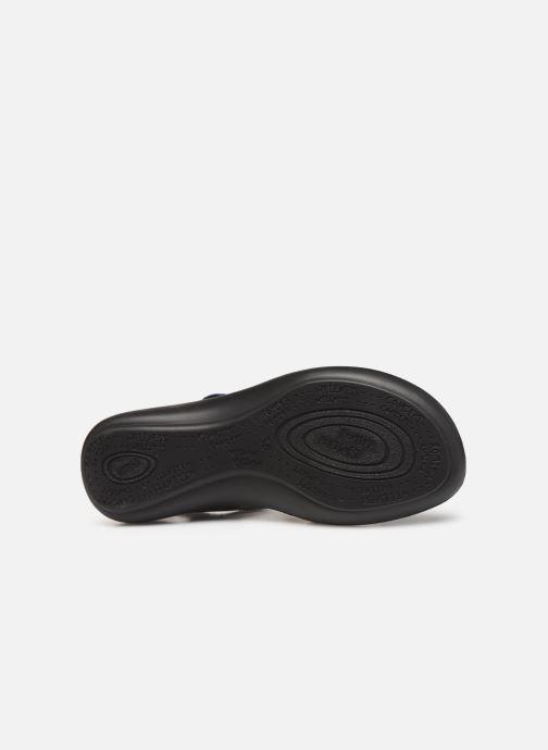 Sandales et nu-pieds Romika Ibiza 103 Bleu vue haut