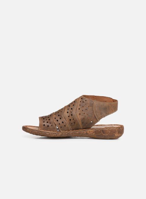 Sandales et nu-pieds Josef Seibel Rosalie 31 Marron vue face