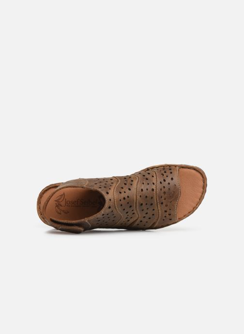 Sandales et nu-pieds Josef Seibel Rosalie 31 Marron vue gauche