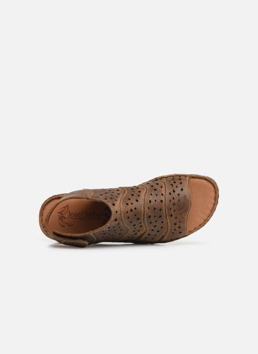 Sandali e scarpe aperte Josef Seibel Rosalie 31 Marrone immagine sinistra