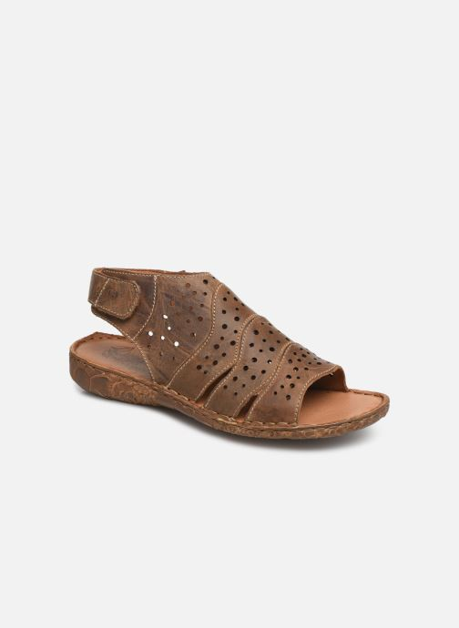 Sandales et nu-pieds Josef Seibel Rosalie 31 Marron vue détail/paire