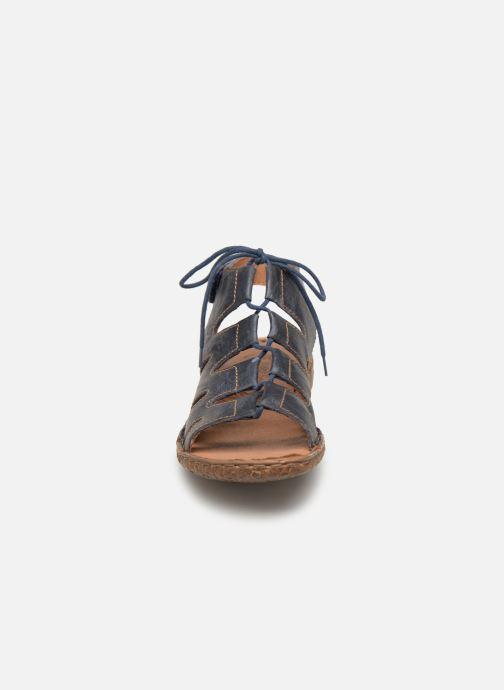 Sandales et nu-pieds Josef Seibel Rosalie 39 Bleu vue portées chaussures