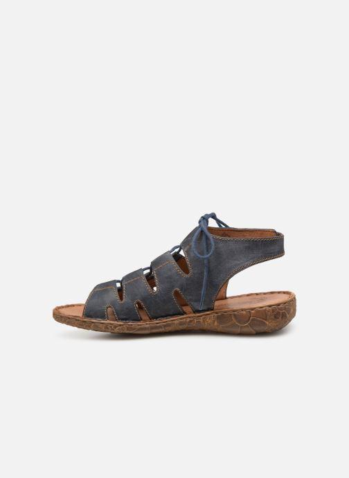 Sandales et nu-pieds Josef Seibel Rosalie 39 Bleu vue face