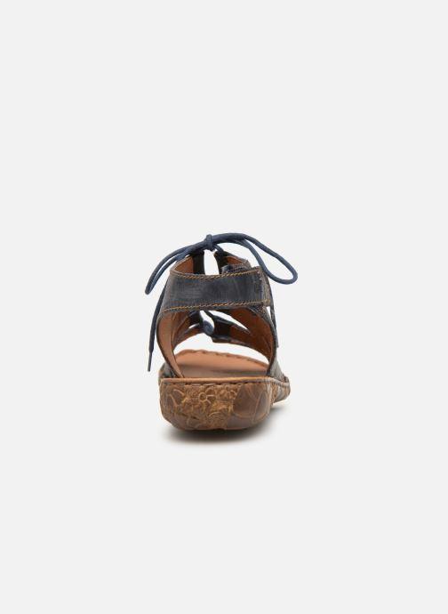 Sandales et nu-pieds Josef Seibel Rosalie 39 Bleu vue droite