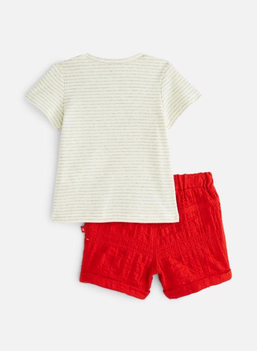 Abbigliamento Absorba 9N37022 Rosso immagine dal basso