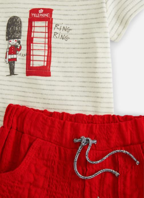 Abbigliamento Absorba 9N37022 Rosso modello indossato