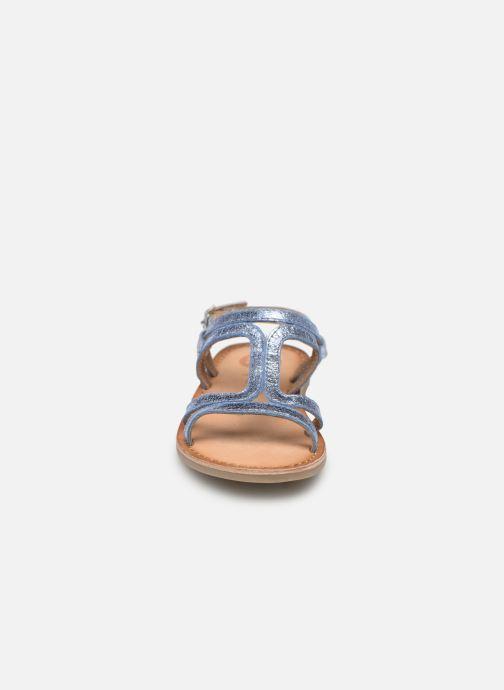 Sandales et nu-pieds Gioseppo COLLEGNO Bleu vue portées chaussures