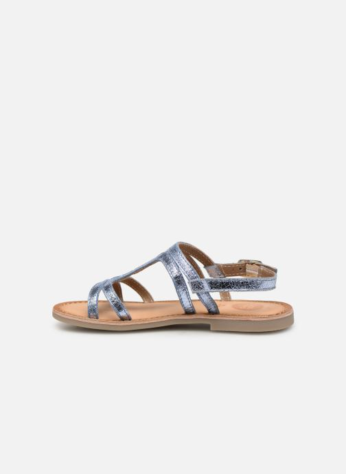 Sandales et nu-pieds Gioseppo COLLEGNO Bleu vue face