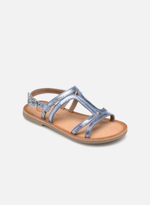 Sandales et nu-pieds Gioseppo COLLEGNO Bleu vue détail/paire