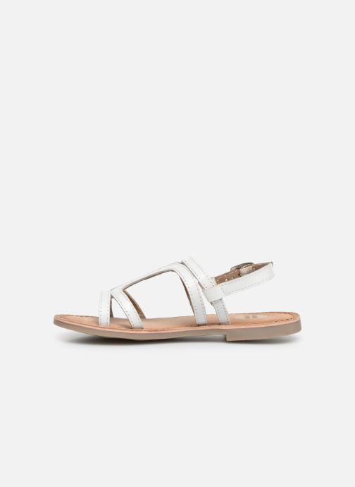 Sandales et nu-pieds Gioseppo COLLEGNO Blanc vue face