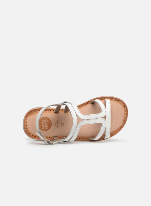 Sandals Gioseppo COLLEGNO White view from the left