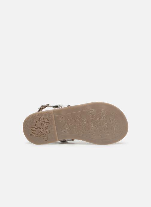Sandales et nu-pieds Gioseppo COLLEGNO Blanc vue haut