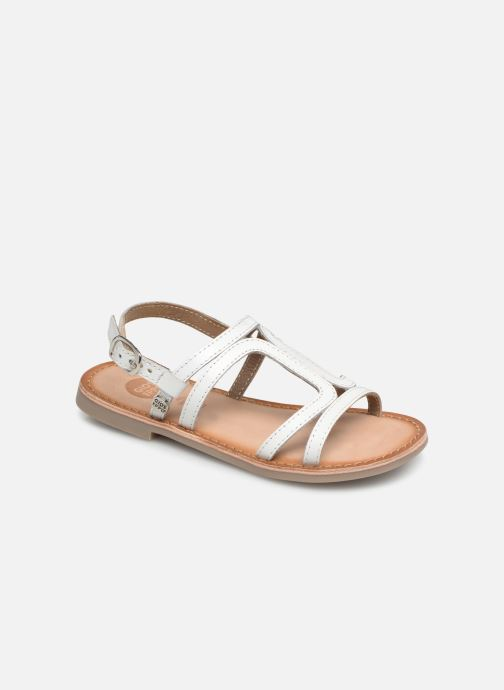 Sandals Gioseppo COLLEGNO White detailed view/ Pair view