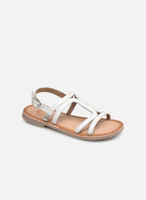 Sandales et nu-pieds Gioseppo COLLEGNO Blanc vue détail/paire