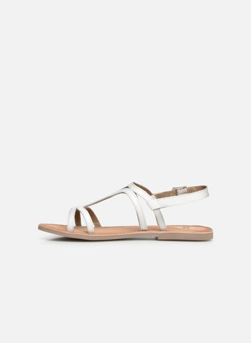 Sandals Gioseppo PESARO White front view