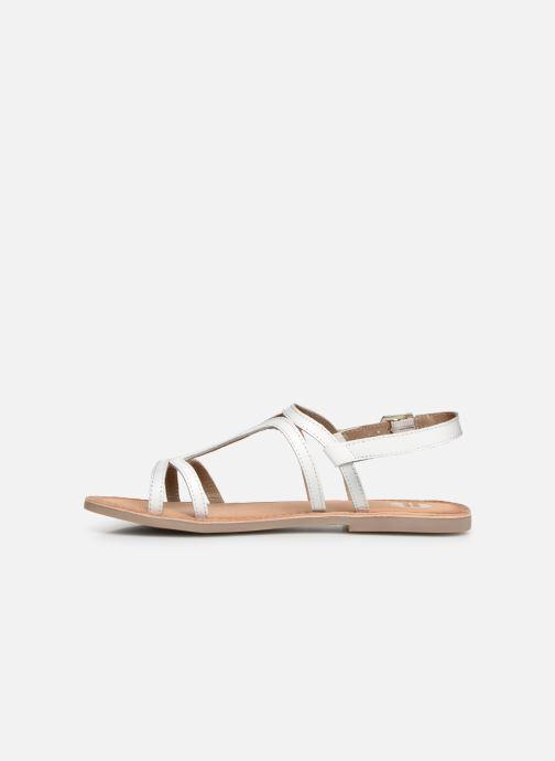 Sandales et nu-pieds Gioseppo PESARO Blanc vue face