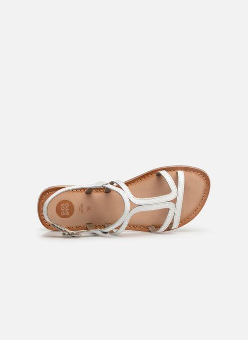 Sandales et nu-pieds Gioseppo PESARO Blanc vue gauche