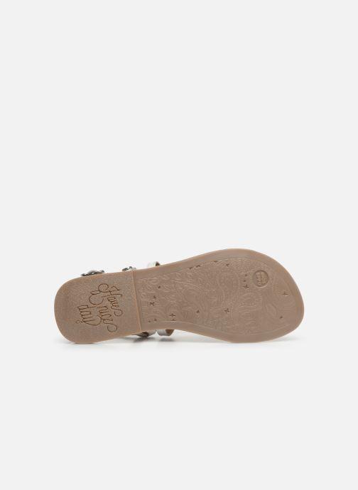 Sandales et nu-pieds Gioseppo PESARO Blanc vue haut