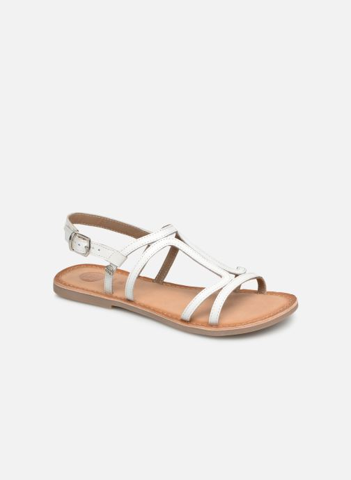 Sandals Gioseppo PESARO White detailed view/ Pair view