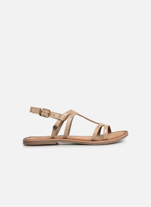 Sandales et nu-pieds Gioseppo PESARO Or et bronze vue derrière