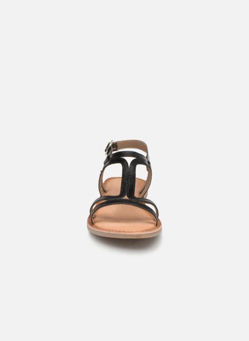 Sandales et nu-pieds Gioseppo PESARO Noir vue portées chaussures