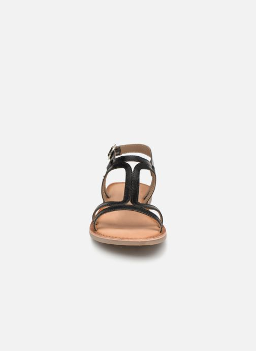 Sandals Gioseppo PESARO Black model view