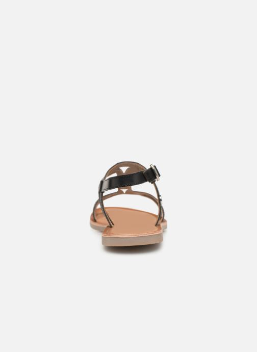Sandals Gioseppo PESARO Black view from the right