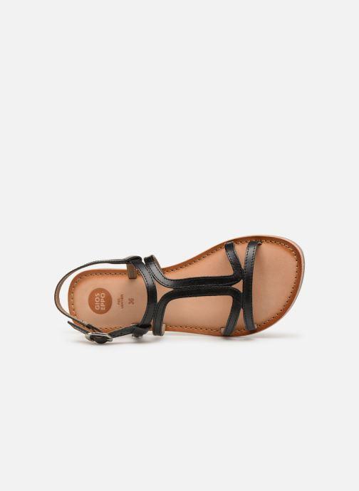 Sandales et nu-pieds Gioseppo PESARO Noir vue gauche