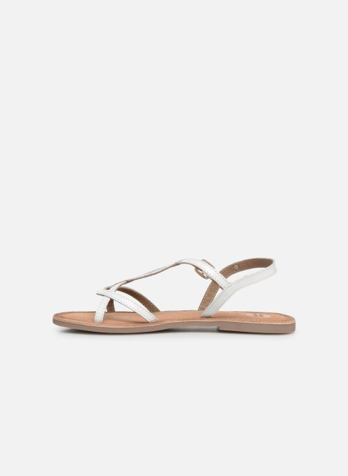 Sandales et nu-pieds Gioseppo CINISELLO Blanc vue face