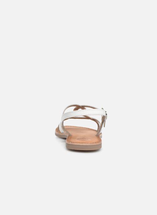 Sandali e scarpe aperte Gioseppo CINISELLO Bianco immagine destra