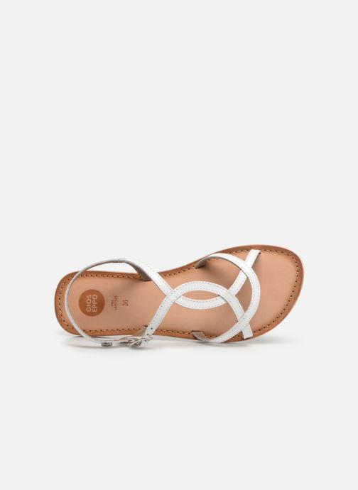 Sandales et nu-pieds Gioseppo CINISELLO Blanc vue gauche